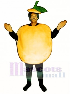Peach Mascot Costume Fruit
