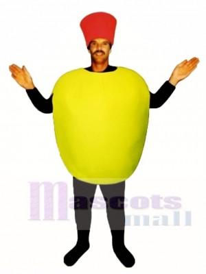 Stuffed Olive Mascot Costume Plant