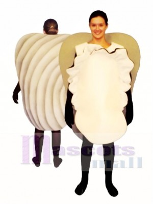 Clam Mascot Costume Animal