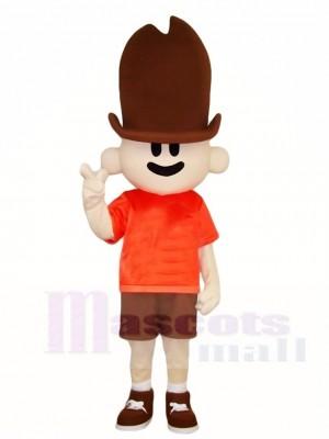 Tall Hat Boy Mascot Costumes Animal