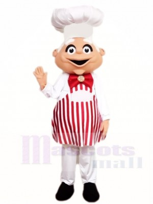 Chef Old Man Mascot Costumes People