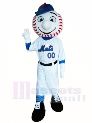 Baseball Ballplayer Mr Mets Mascot Costumes People