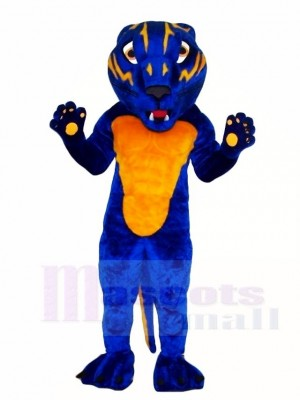 Cute Blue Bearcat Mascot Costumes Animal  sc 1 st  Cheap Mascot Costumes & Cougar Mascot Costume Animal