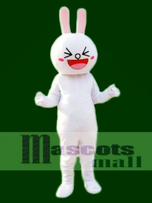 Cony Rabbit Bunny Mascot Costume Line Town Friends Mascot Animal
