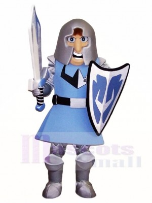 Blue Crusader Mascot Costumes People