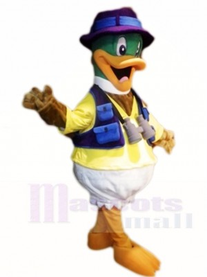 Traveling Duck Mascot Costumes Poultry Animal
