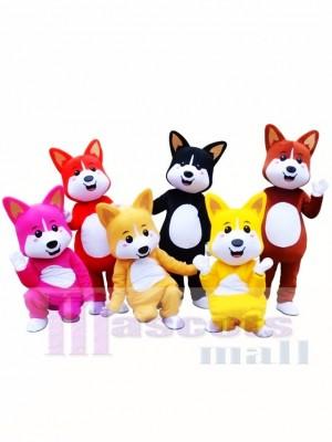 Lovely Shiba Inu Lucky Dog Akita Mascot Costume Animal