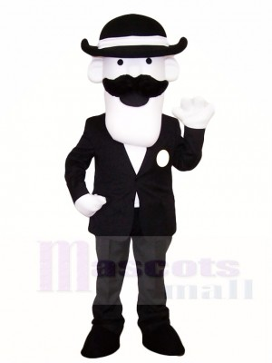 Man in Suit Mascot Costumes People