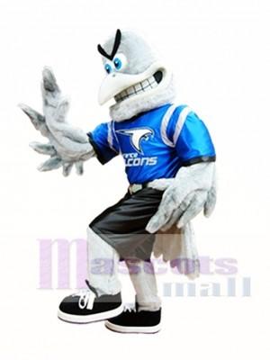 Gray Falcon Mascot Costume Grey Hawk Mascot Costumes Animal