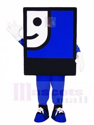 Blue Face Mascot Costumes