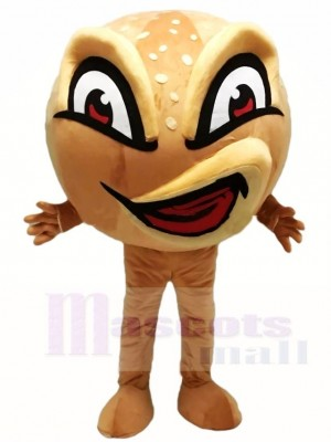 Ugly Angry Face Bread Mascot Costumes Food Snack