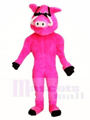 Pink Pig Mascot Costumes Animal