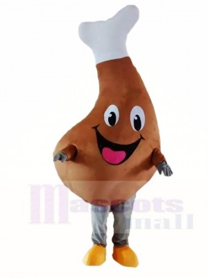 Yummy Chicken Leg Mascot Costumes Food