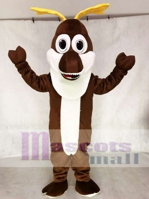 Sven Reindeer Mascot Costume from Frozen Cartoon Anime