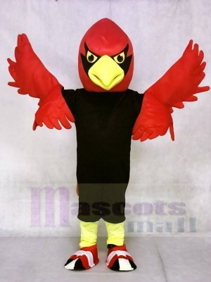 Red Cardinal Mascot Costumes Bird Animal