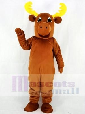 Bull Moose Mascot Costumes Animal