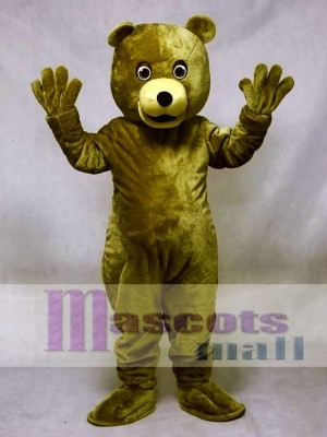 Brown Baxter Bear Mascot Costume Animal