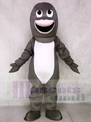 Cute Gray Shark Mascot Costumes Animal