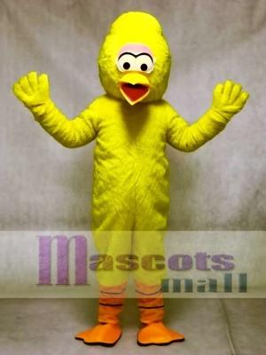 Yellow Turkey Mascot Adult Costume Bird