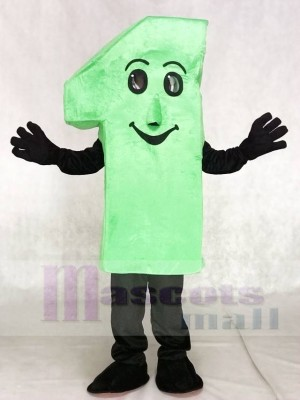 Numbers One Mascot Costumes Figure Digit