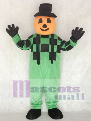 Blinkey Pumpkin Halloween Mascot Costume
