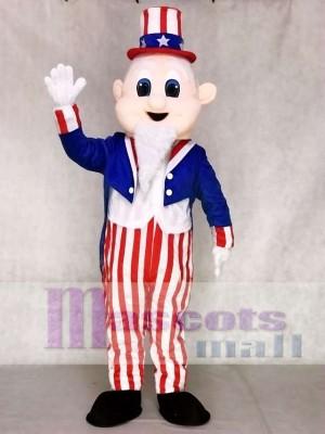 Uncle Sam Maskottchen Adult Kostüme