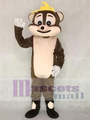 Brown Chipmunk Adult Mascot Costume Animal
