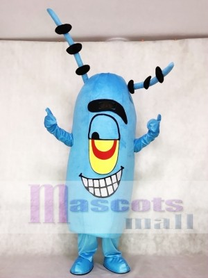 Plankton Mascot Costume from Cartoon SpongeBob SquarePants