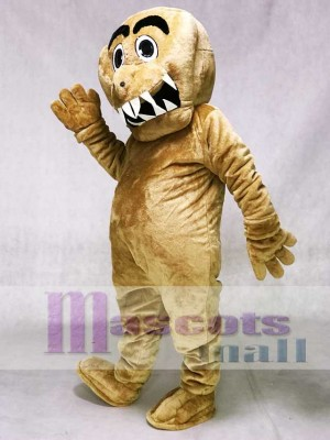 Brown Monster Mascot Costumes