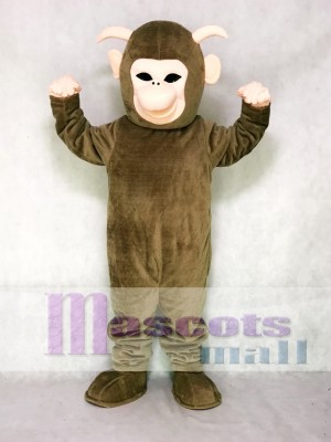 Brown Yeti Mascot Costume Animal