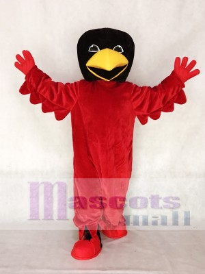 Red Bird Mascot Costume Animal