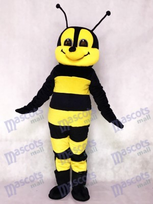 Friendly Bee Mascot Costume Insect