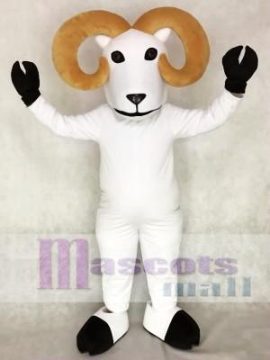 White Ram Mascot Costume