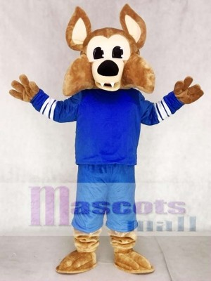 Custom Color Blue Arizona Coyotes Howler the Coyote Wolf Mascot Costumes