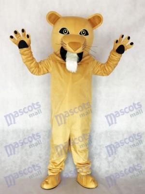 Fierce Cougar Mascot Costume Animal