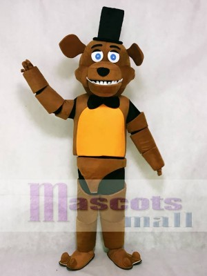 FNAF Five Nights At Freddy's Freddy Fazbear Bear Mascot Costume Cartoon Anime