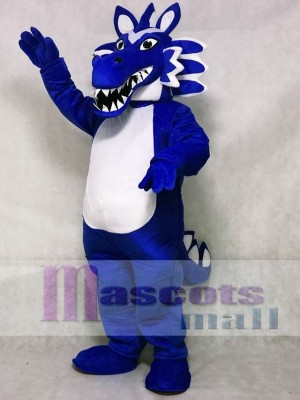 Oriental Blue Dragon Mascot Costume Animal