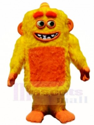 Yellow Max Monster Mascot Costumes