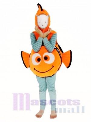 Child Halloween Finding Nemo Clown Fish Carry Me Mascot Costume