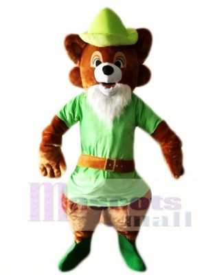 Robin Hood Brown Fox Mascot Costumes