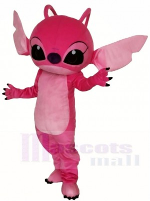 Pink Angel from Lilo & Stitch Mascot Costumes Cartoon