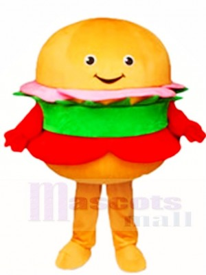 Hamburger Mascot Costumes Food Snack
