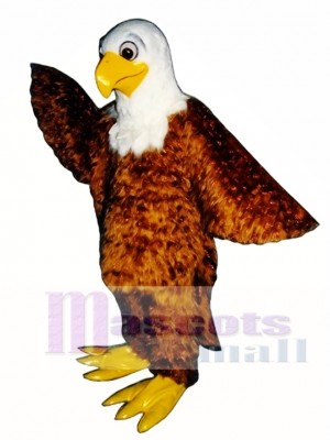Cute Friendly Eagle Mascot Costume Animal