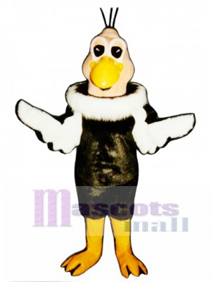 Cute Vinnie Vulture Mascot Costume Bird