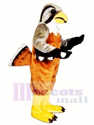 Cute Falcon Mascot Costume Animal