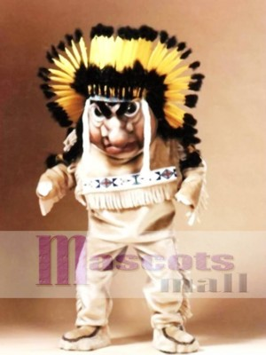 Indian Mascot Costume People