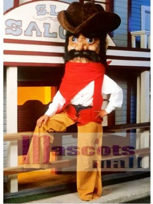 Cowboy Mascot Costume People