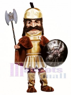 Trojan Warrior Mascot Costume (Shield & Axe not Included) People