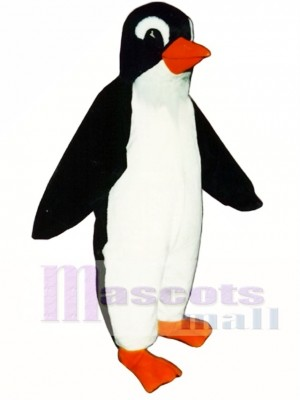 Cute Percy Penguin Mascot Costume