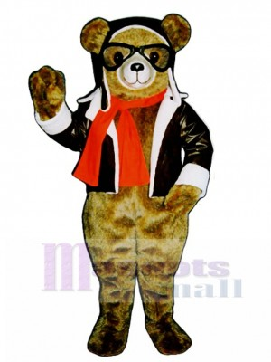 New Red Bearon Bear Mascot Costume Animal